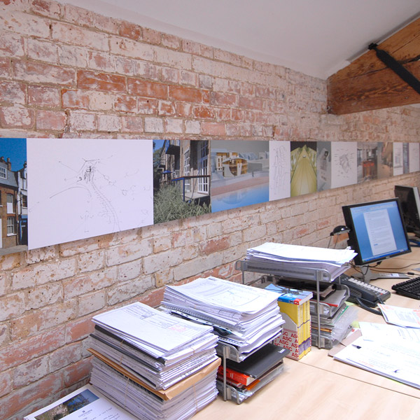 CTM Architects interior installation