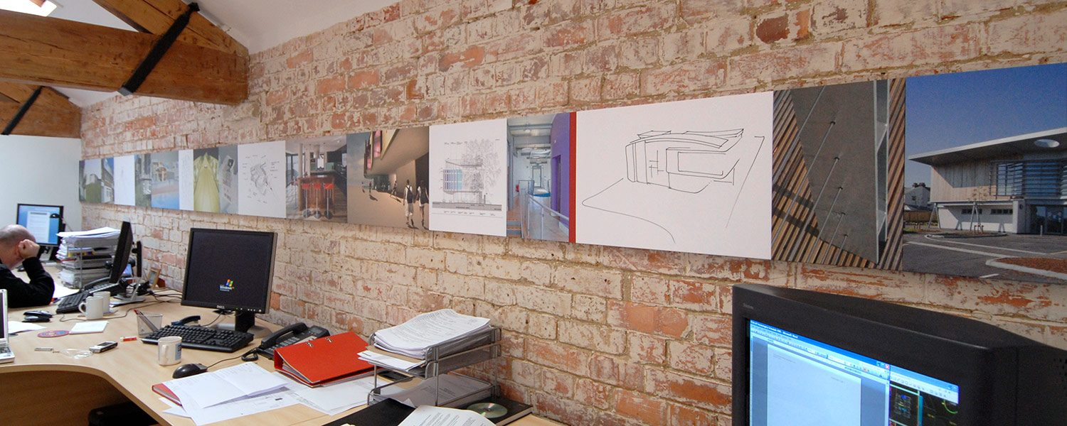 Guy Holloway - CTM architects workspace image installation